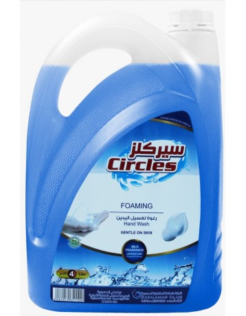 Circles foam for hand washing elegance 4 liters