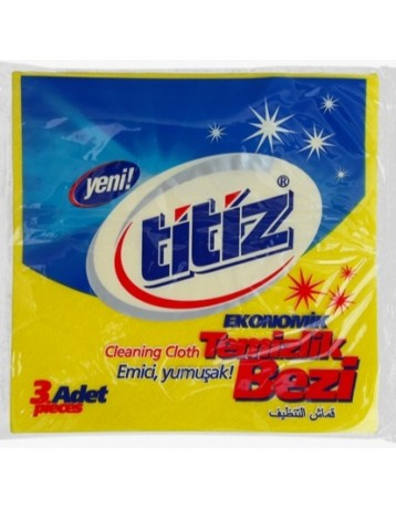 Titiz Cotton 3 Pieces Cleaning Towel