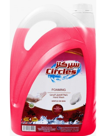Circles hand wash foam 4 liter