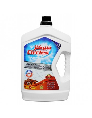 Circles disinfectant and floor cleaner 3 liter