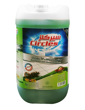 Circles disinfectant and floor cleaner 30 liters